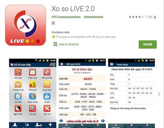 XO SO LIVE 2.0 là một trong những phần mềm dự đoán lô đề được tải nhiều nhất