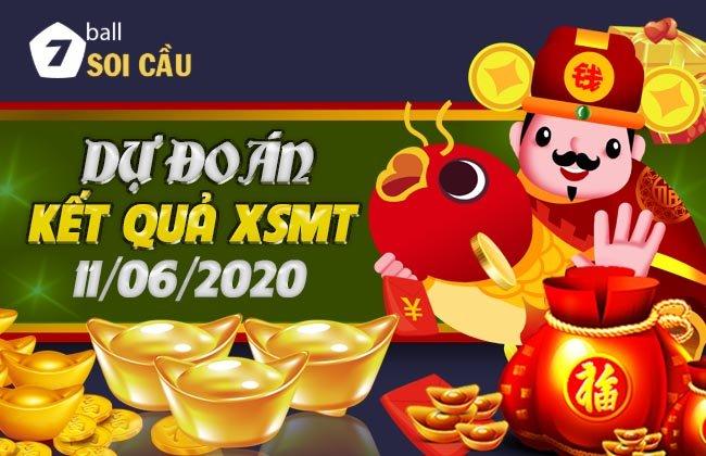Soi cầu XSMT ngày 11 tháng 6 năm 2020
