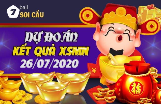 Soi cầu XSMN ngày 26 tháng 7 năm 2020