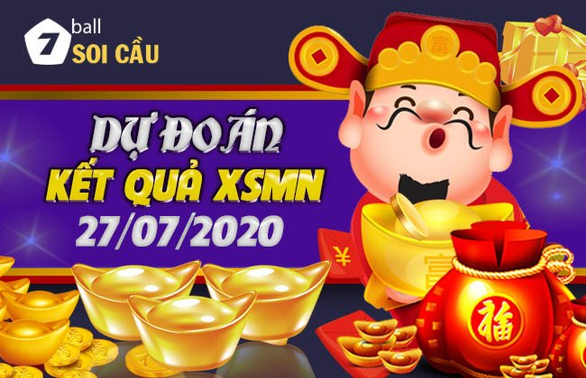 Soi cầu XSMN ngày 27 tháng 7 năm 2020