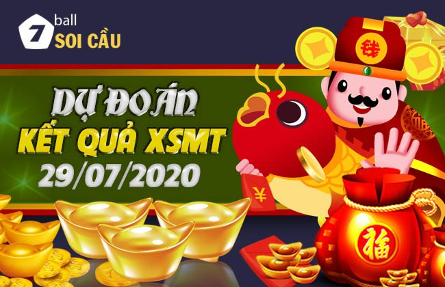 Soi cầu XSMT ngày 29 tháng 7 năm 2020