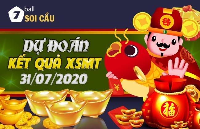 Soi cầu XSMT ngày 31 tháng 7 năm 2020