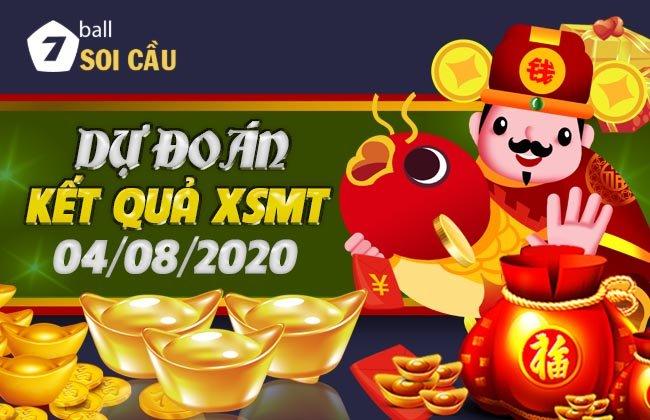 Soi cầu XSMT ngày 4 tháng 8 năm 2020